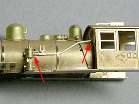 コンプレッサーの配管