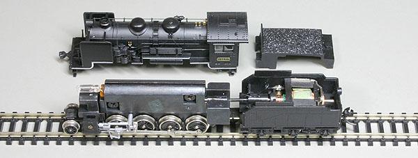 トミックス 9600(テンダーモーター)