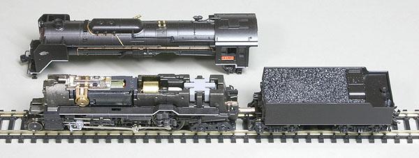 KATO C62(エンジンドライブ)