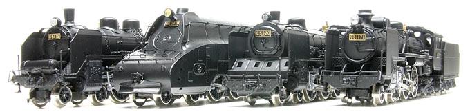 キングスホビーの蒸気機関車キット