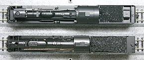 Nゲージ C57とC62