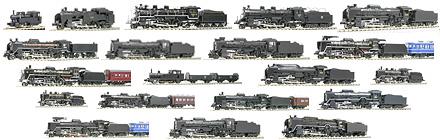 2007年の蒸気機関車