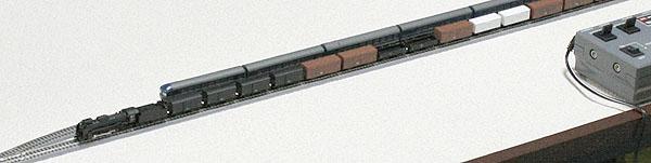 6.5mmゲージ D51列車