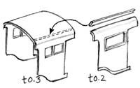 紙のキャブの構造