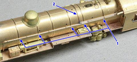 公式側の配管