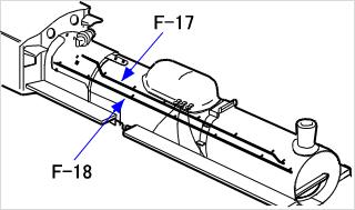 ハンドレールと空気作用管