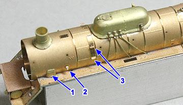 ボイラー公式側パーツ(1)