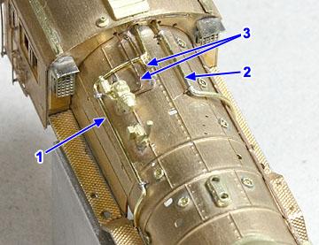 給水ポンプ、コンプレッサー蒸気管、発電機配管