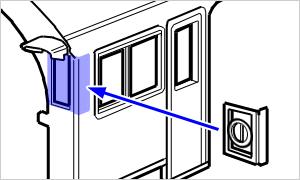 旋回窓の取り付け方法