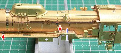 コンプレッサー排気管