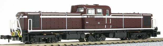 DD51 1 茶色・登場時(マイクロエース)