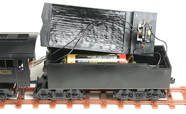 テンダーと電池
